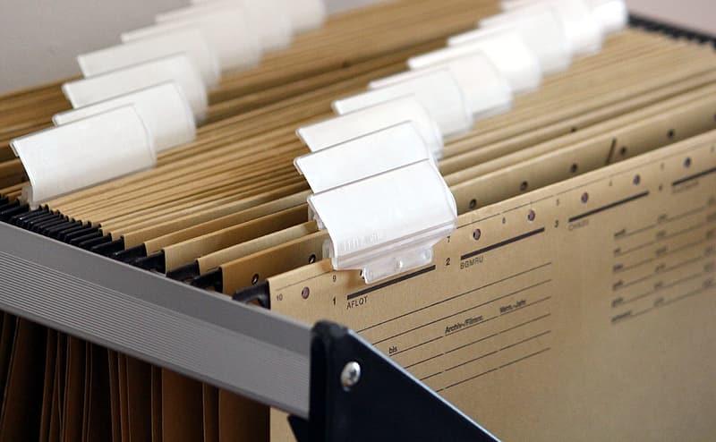 dokumenty przechowywanie